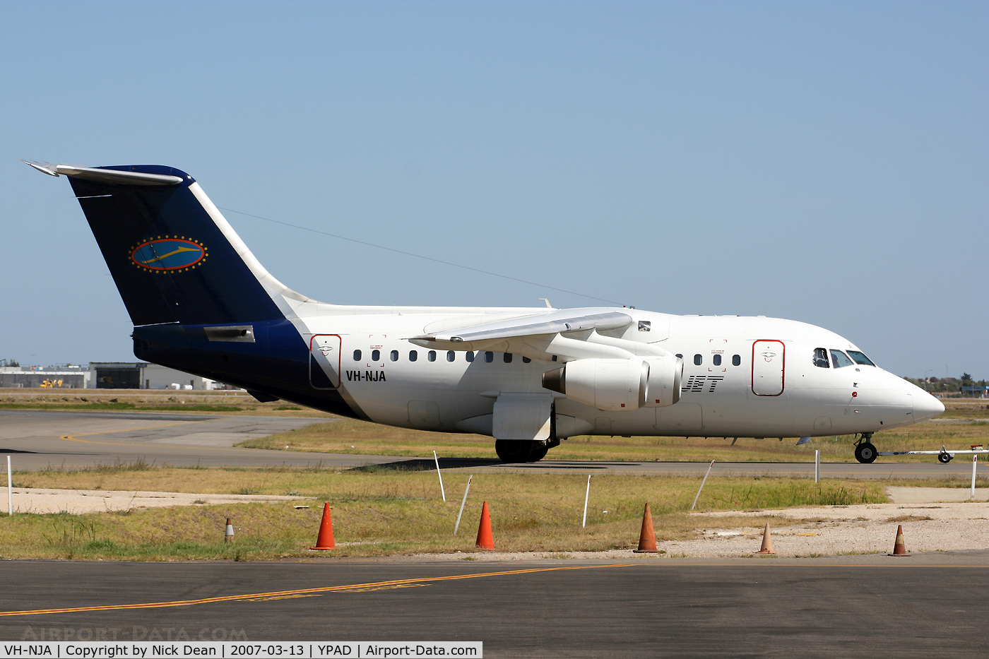 VH-NJA, 1982 British Aerospace BAe.146-100 C/N E1004, /