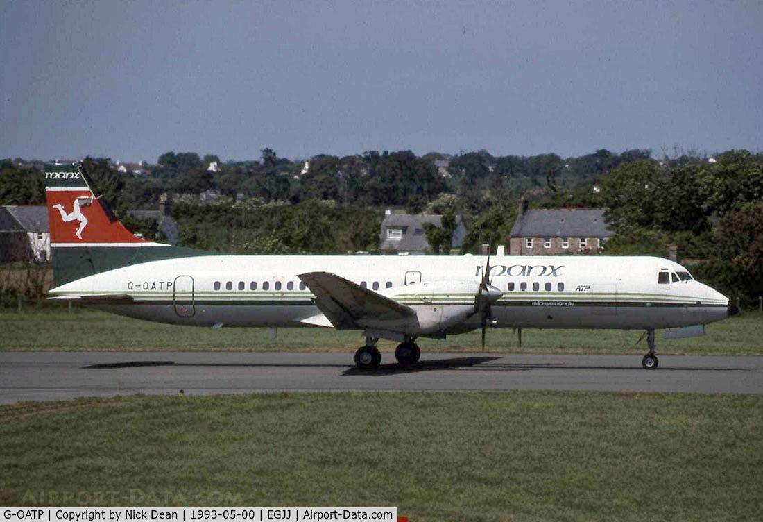 G-OATP, 1988 British Aerospace ATP C/N 2005, /