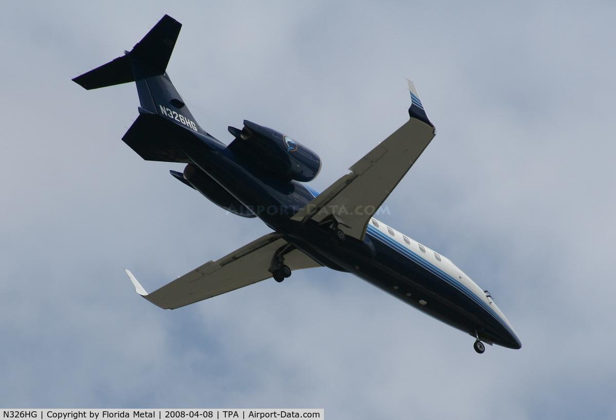 N326HG, 1999 Learjet Inc 60 C/N 163, Lear 60