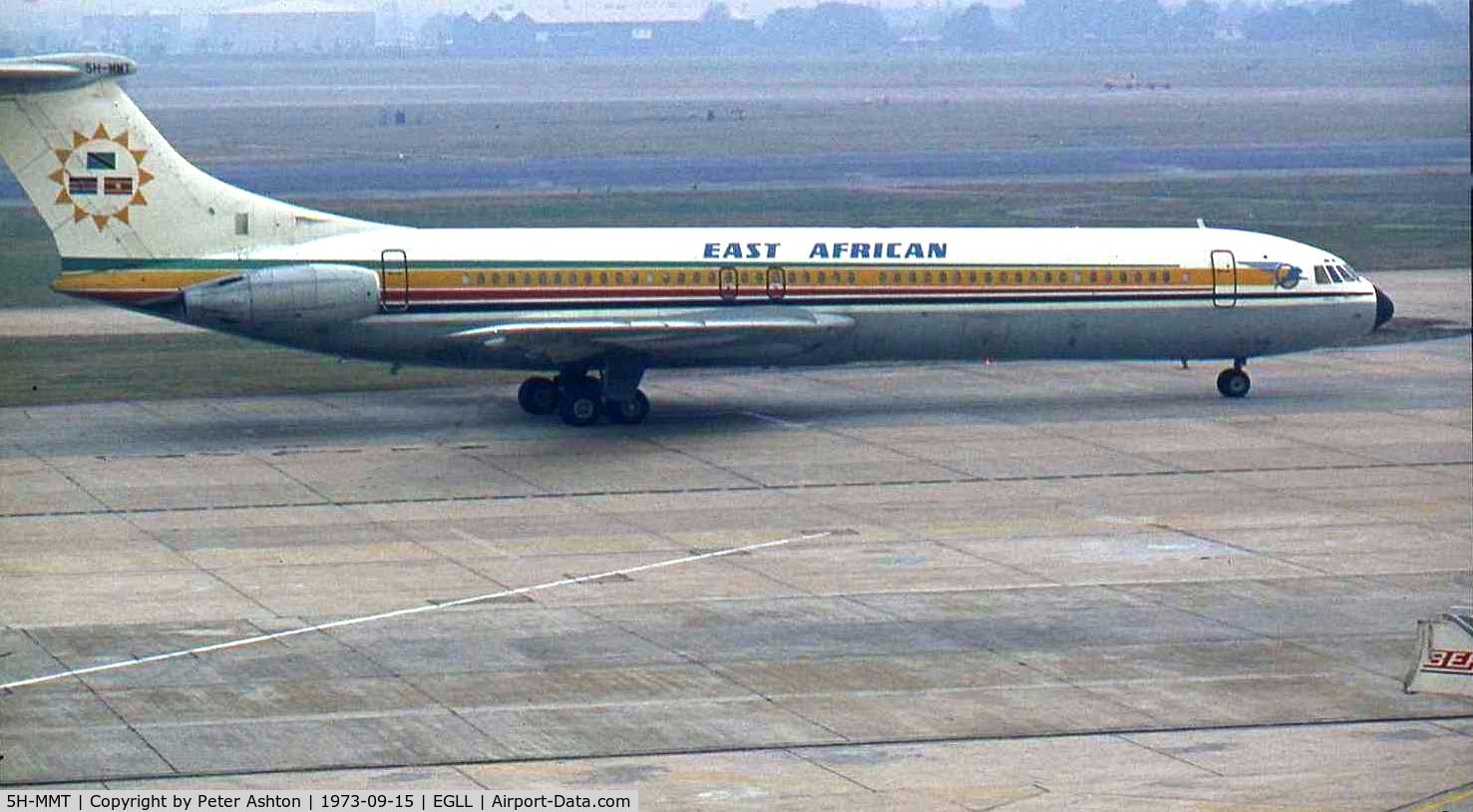 5H-MMT, 1966 Vickers Super VC10 Srs 1154 C/N 882, East African Vickers VC10 1153