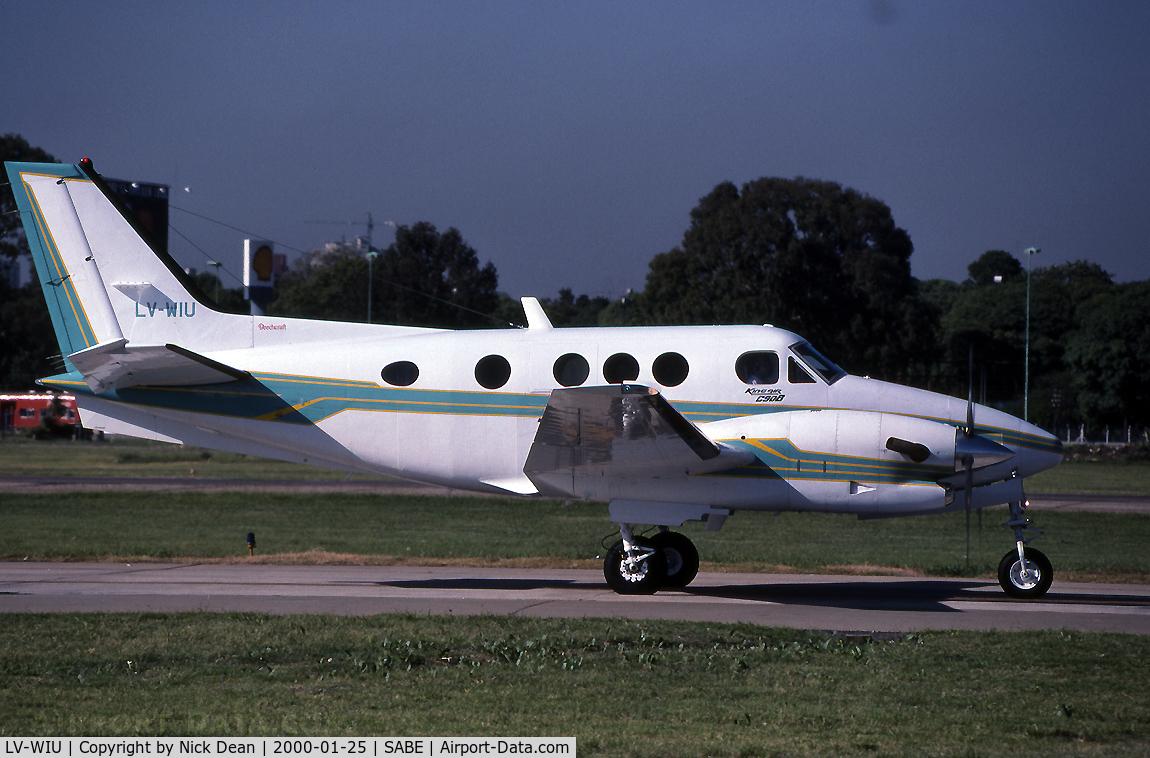 LV-WIU, 1994 Beech C90B King Air C/N LJ-1381, Currently N707FF