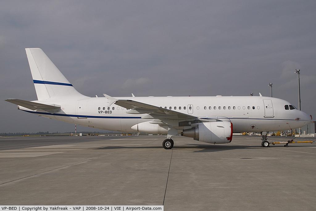 VP-BED, 2007 Airbus ACJ319 (A319-115/CJ) C/N 3073, Airbus A319