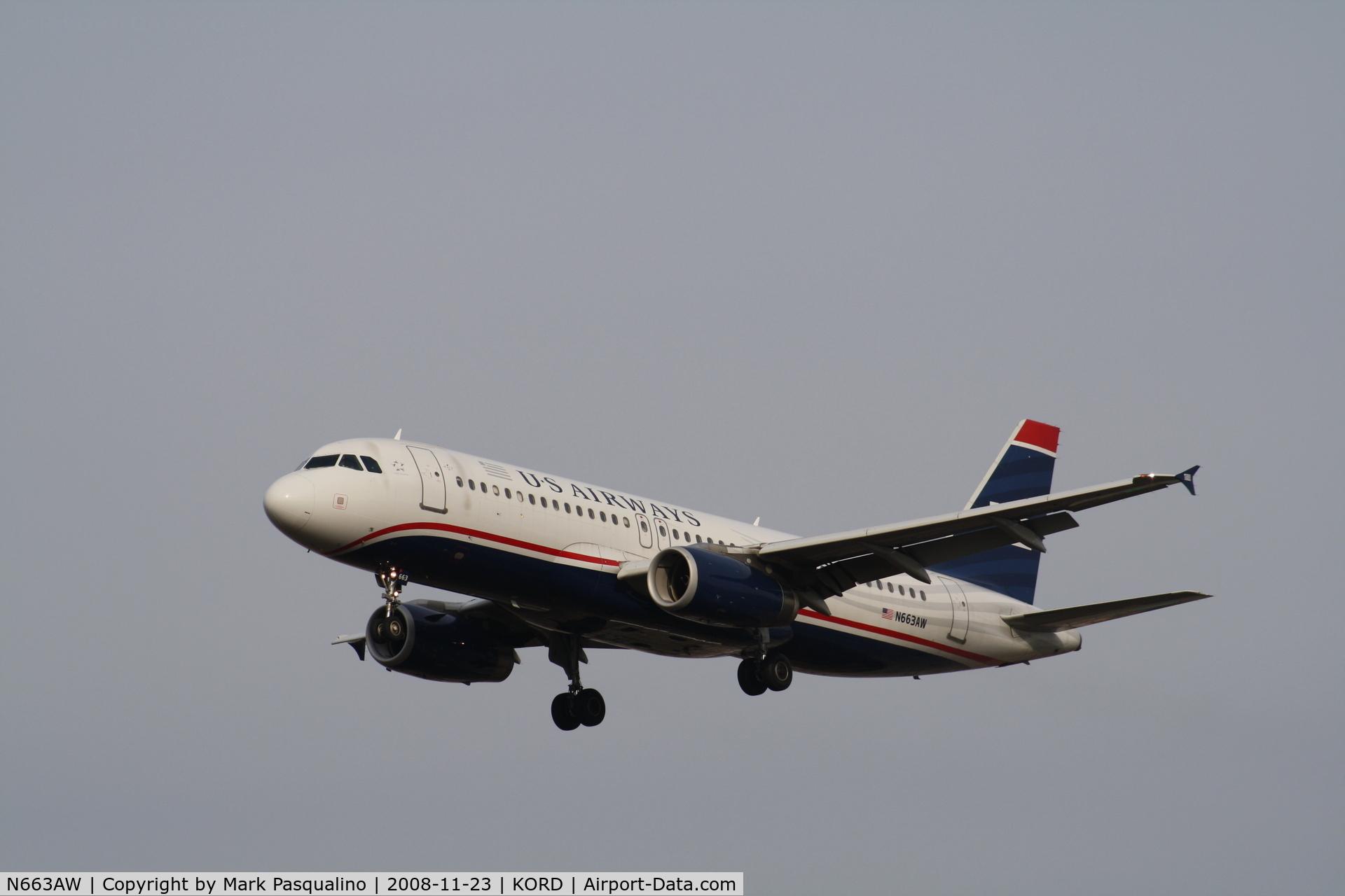 N663AW, 2001 Airbus A320-232 C/N 1419, Airbus A320