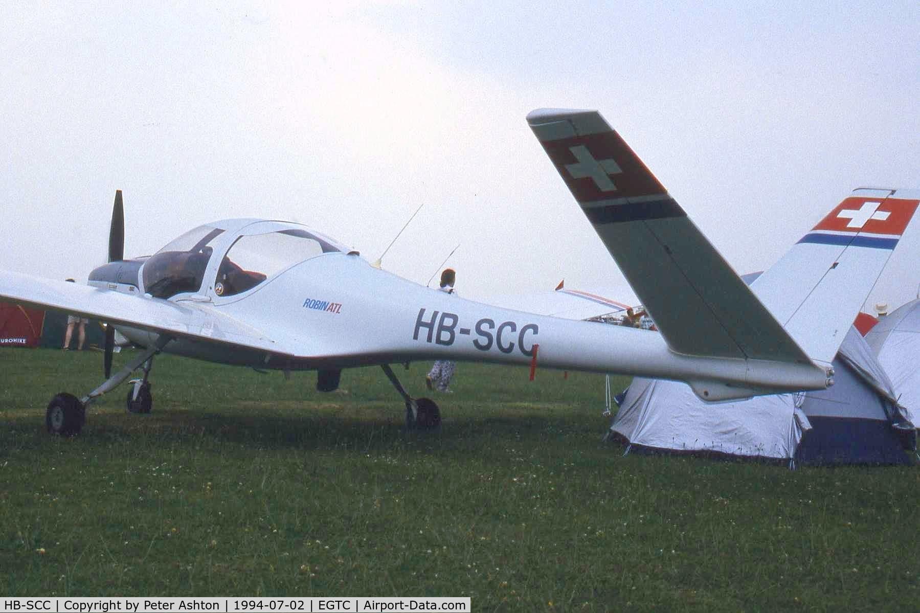 HB-SCC, Robin ATL C/N 83, Robin ATL. PFA Rally 1994