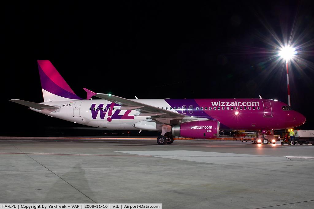 HA-LPL, 2007 Airbus A320-232 C/N 3166, Wizzair Airbus 320