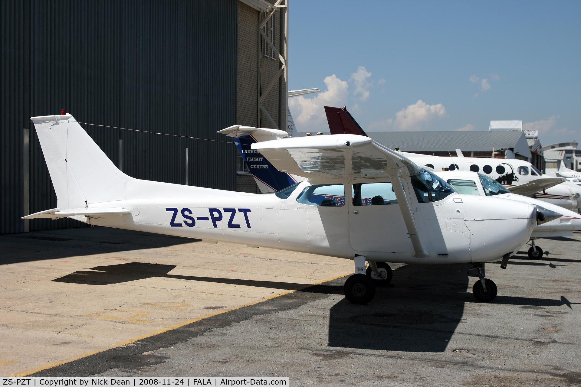 ZS-PZT, Cessna 172L Skyhawk Skyhawk C/N 17260377, FALA