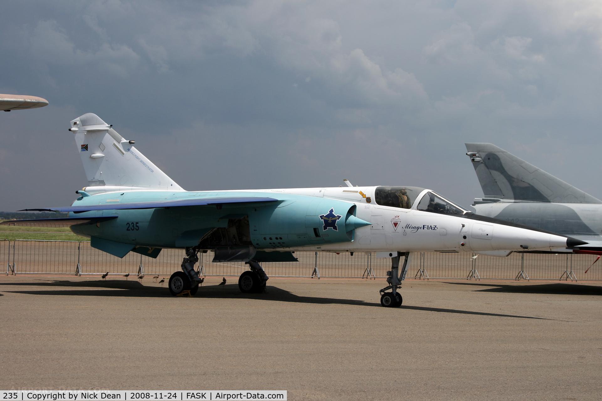 235, Dassault Mirage F.1AZ C/N 143, FASK Swartkop AFB Museum