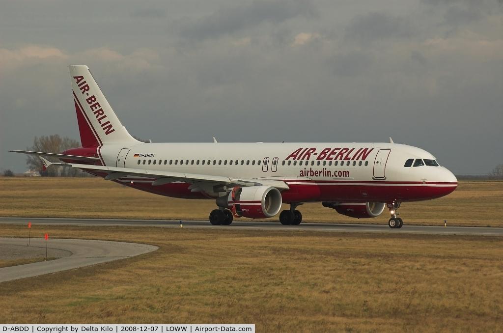 D-ABDD, 2006 Airbus A320-214 C/N 2685, AIR BERLIN