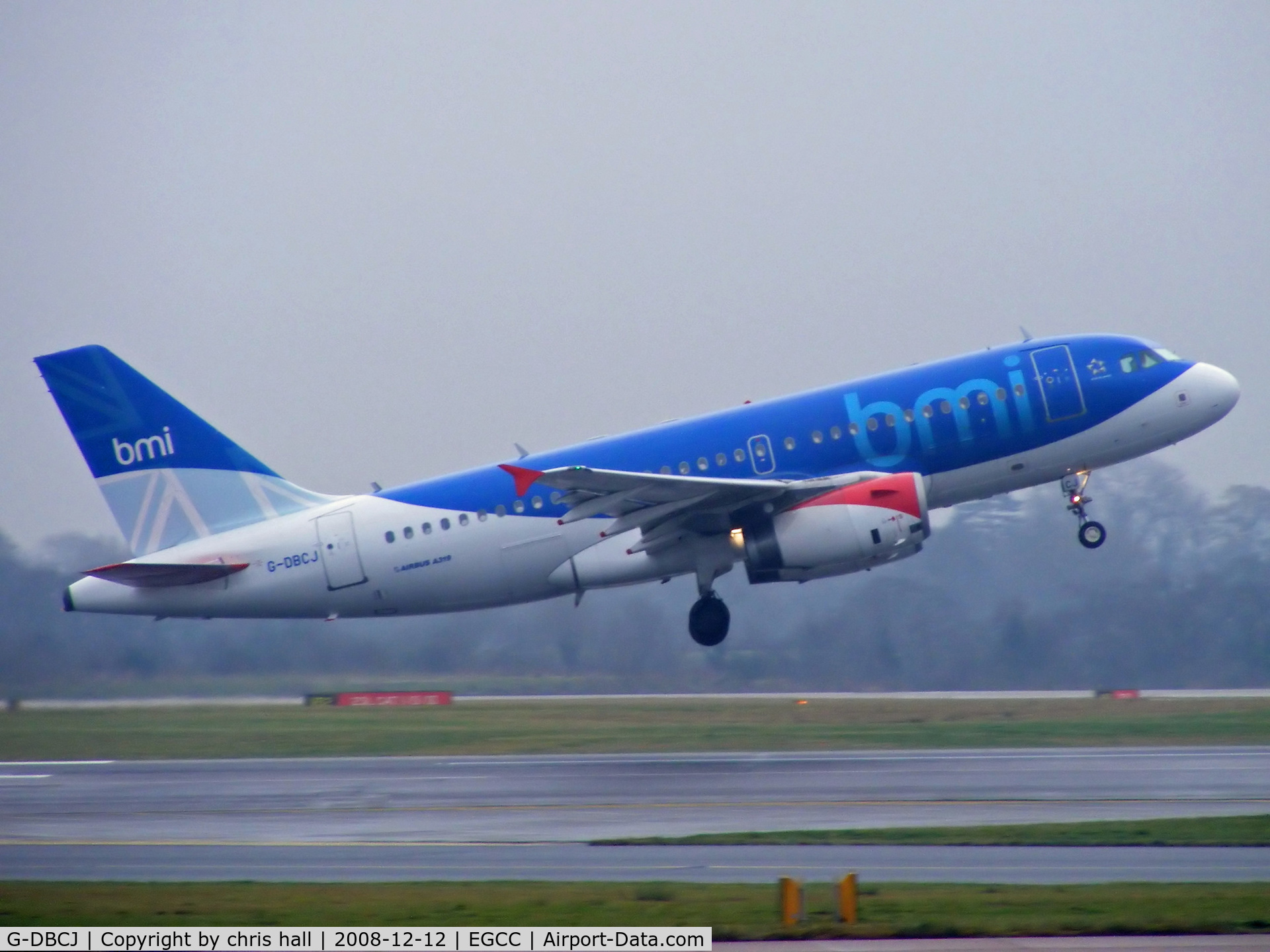 G-DBCJ, 2006 Airbus A319-131 C/N 2981, BMI