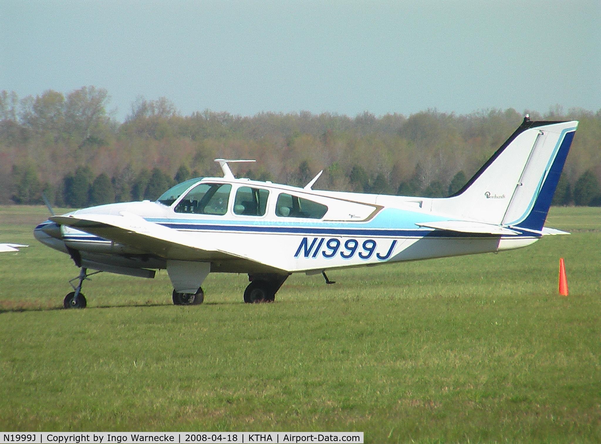 N1999J, 1967 Beech 95-C55 C/N TE-344, Beech 95-C55 Baron at Beechcraft Heritage Museum, Tullahoma Regional Airport
