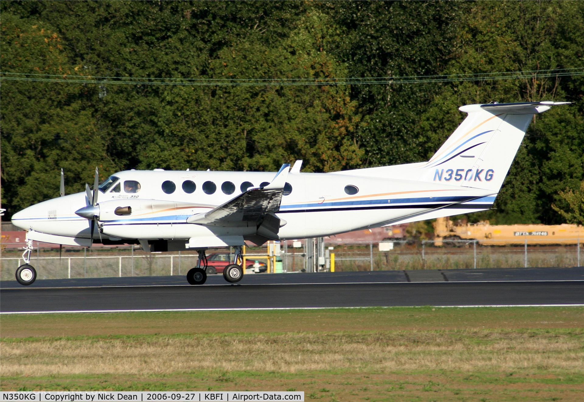 N350KG, 1997 Beechcraft King Air 350B C/N FL-156, KBFI (Currently registered N769BJ)