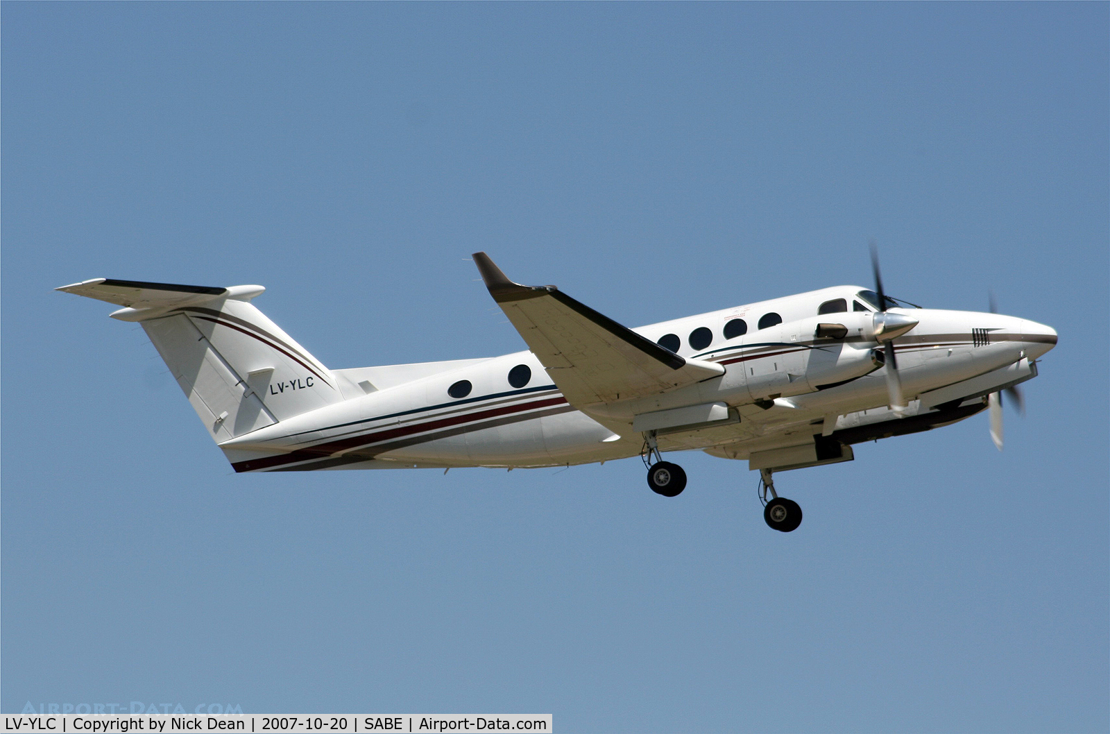 LV-YLC, 1998 Beechcraft King Air 350B C/N FL-190, SABE