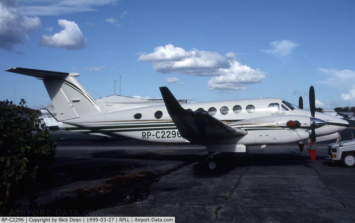 RP-C2296, 1998 Beechcraft King Air 350B C/N FL-196, RPLL