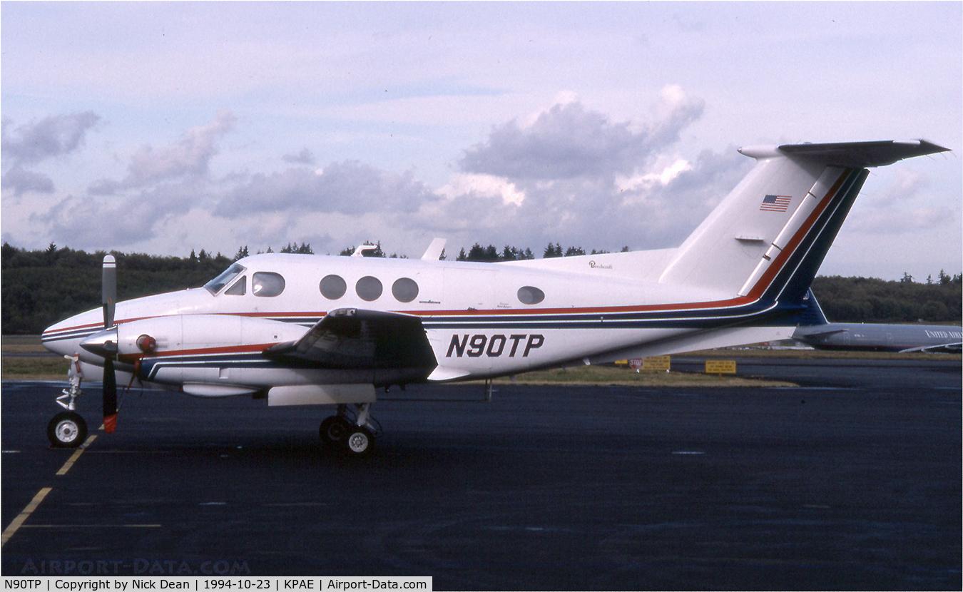 N90TP, 1980 Beech F90 King Air C/N LA-66, KPAE