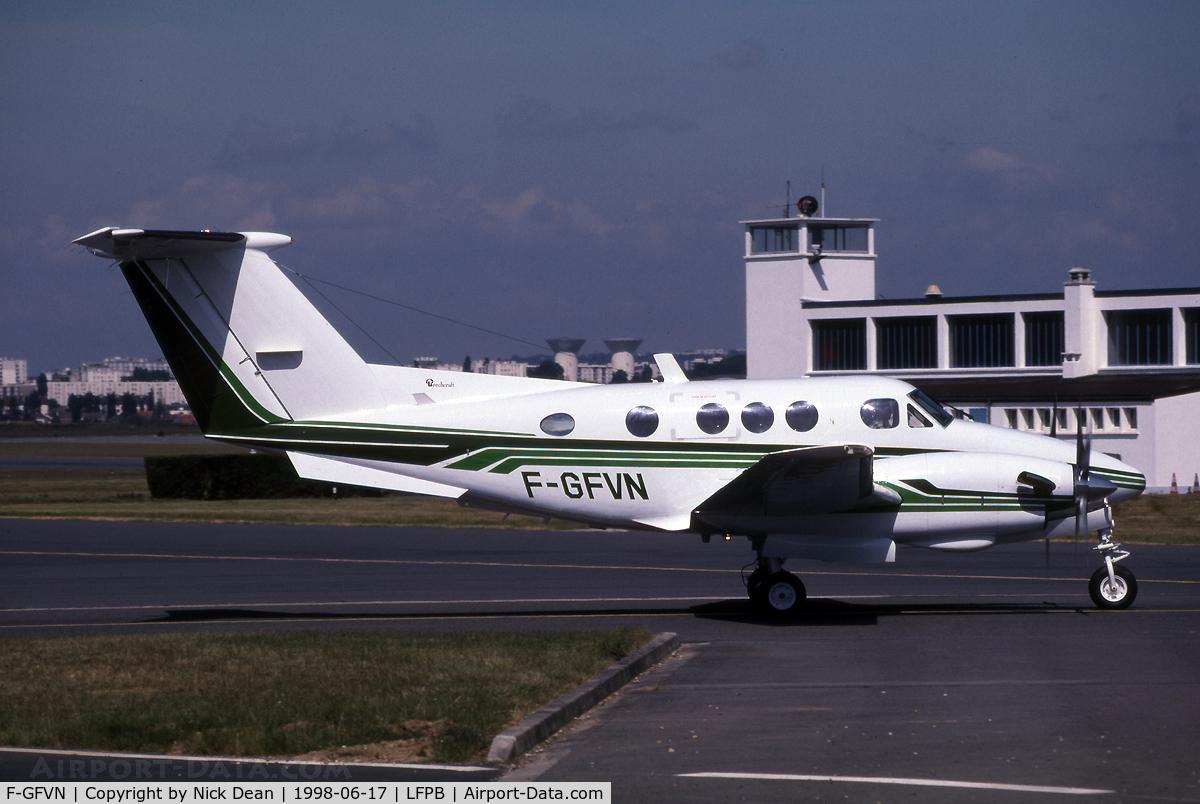 F-GFVN, 1981 Beech F90 King Air C/N LA-166, LFPB