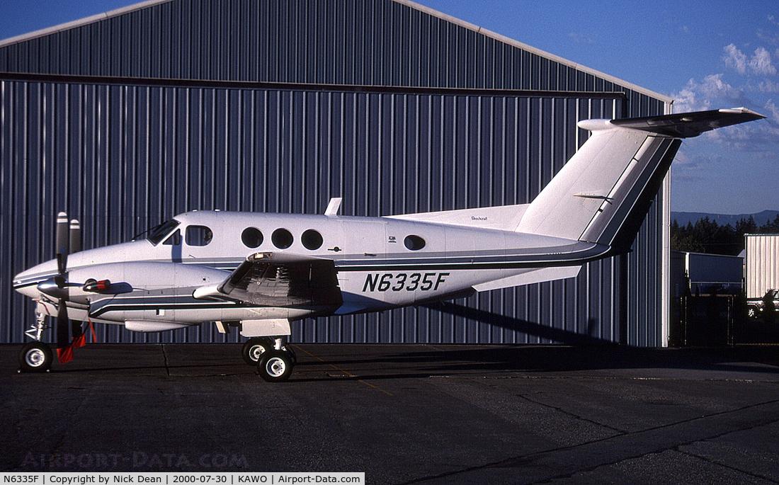 N6335F, 1982 Beech F90 King Air C/N LA-190, KAWO