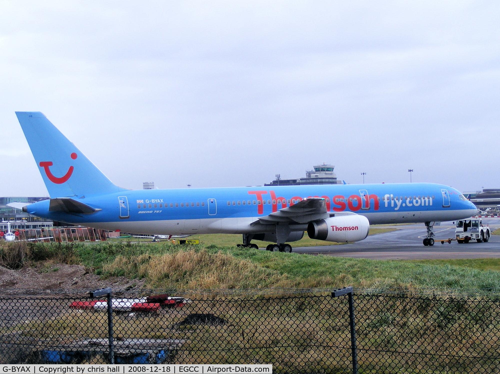 G-BYAX, 1999 Boeing 757-204 C/N 28834, Thomson