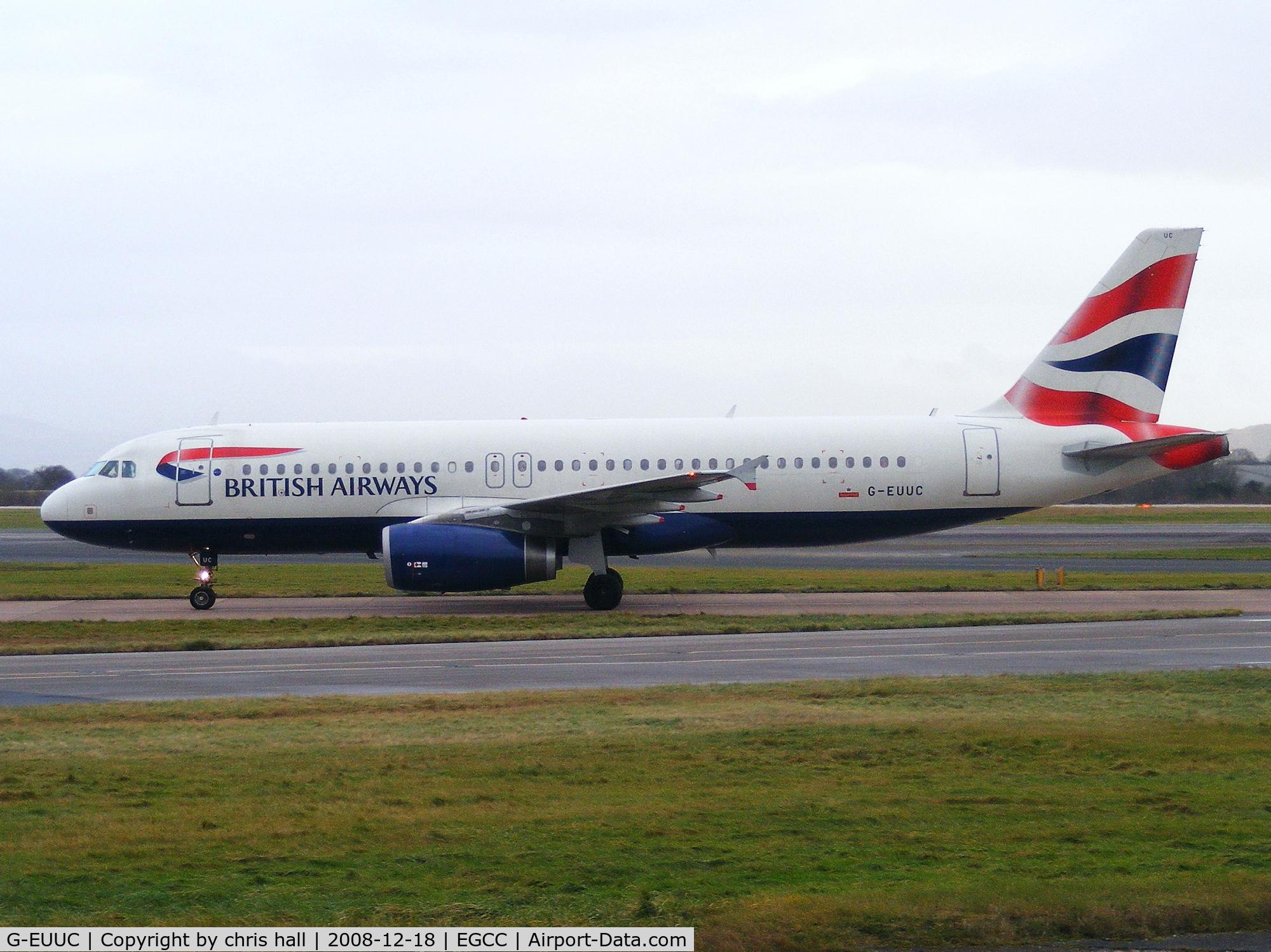 G-EUUC, 2001 Airbus A320-232 C/N 1696, British Airways