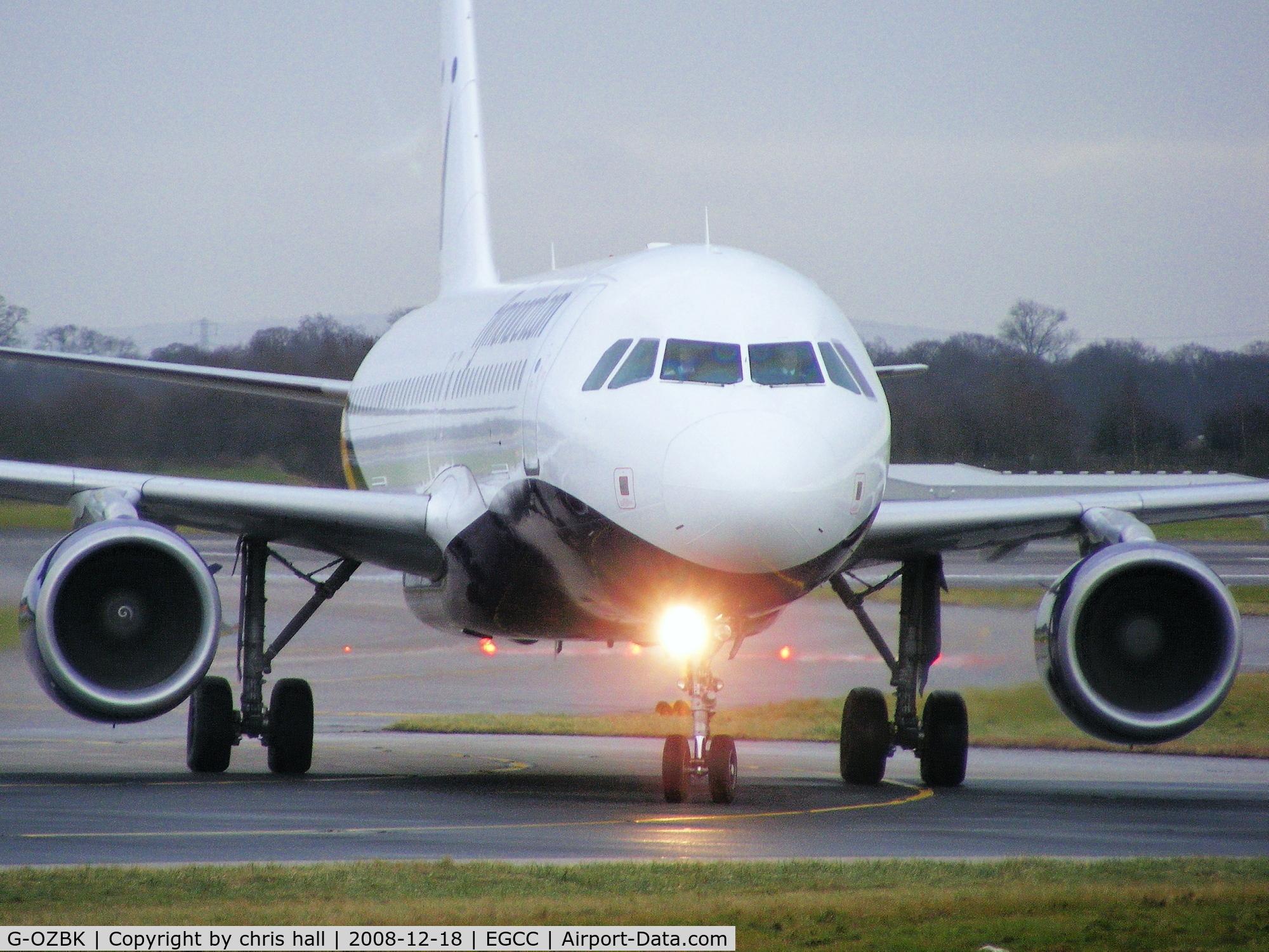 G-OZBK, 2000 Airbus A320-214 C/N 1370, Monarch