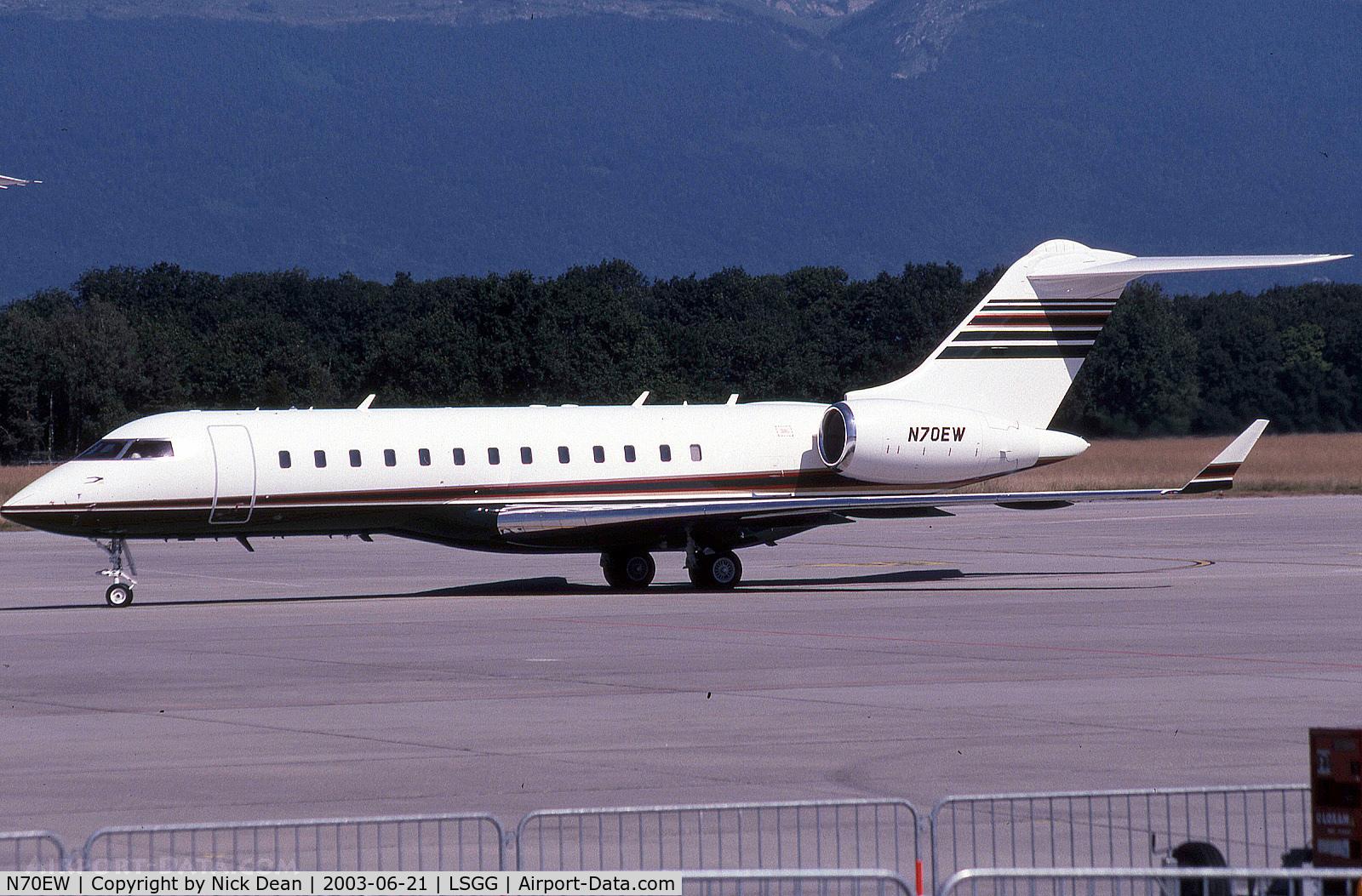 N70EW, 1999 Bombardier BD-700-1A10 Global Express C/N 9026, LSGG