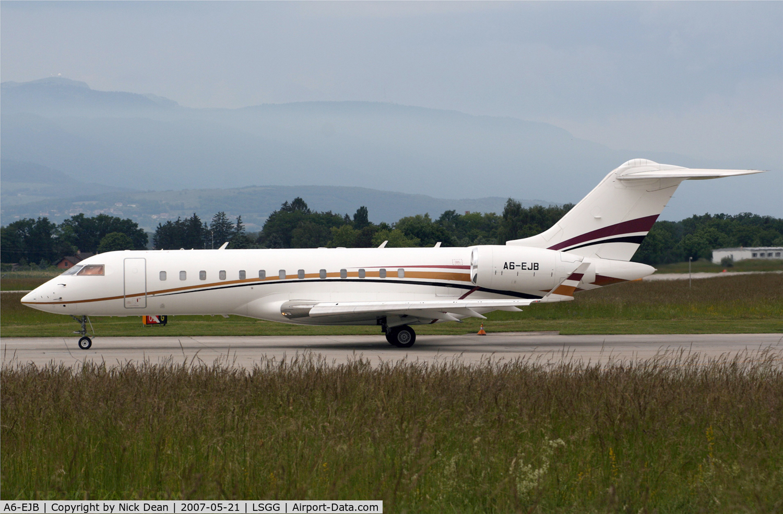 A6-EJB, 2001 Bombardier BD-700-1A10 Global Express C/N 9094, LSGG