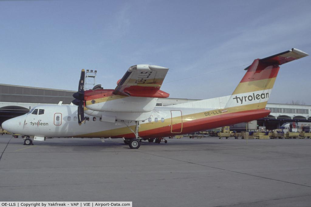 OE-LLS, 1979 De Havilland Canada DHC-7-102 Dash 7 C/N 22, Tyrolean Airway Dash 7