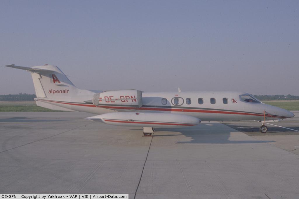 OE-GPN, 2001 Cessna 560 Citation Excel C/N 560-5169, Alpenair Learjet 35