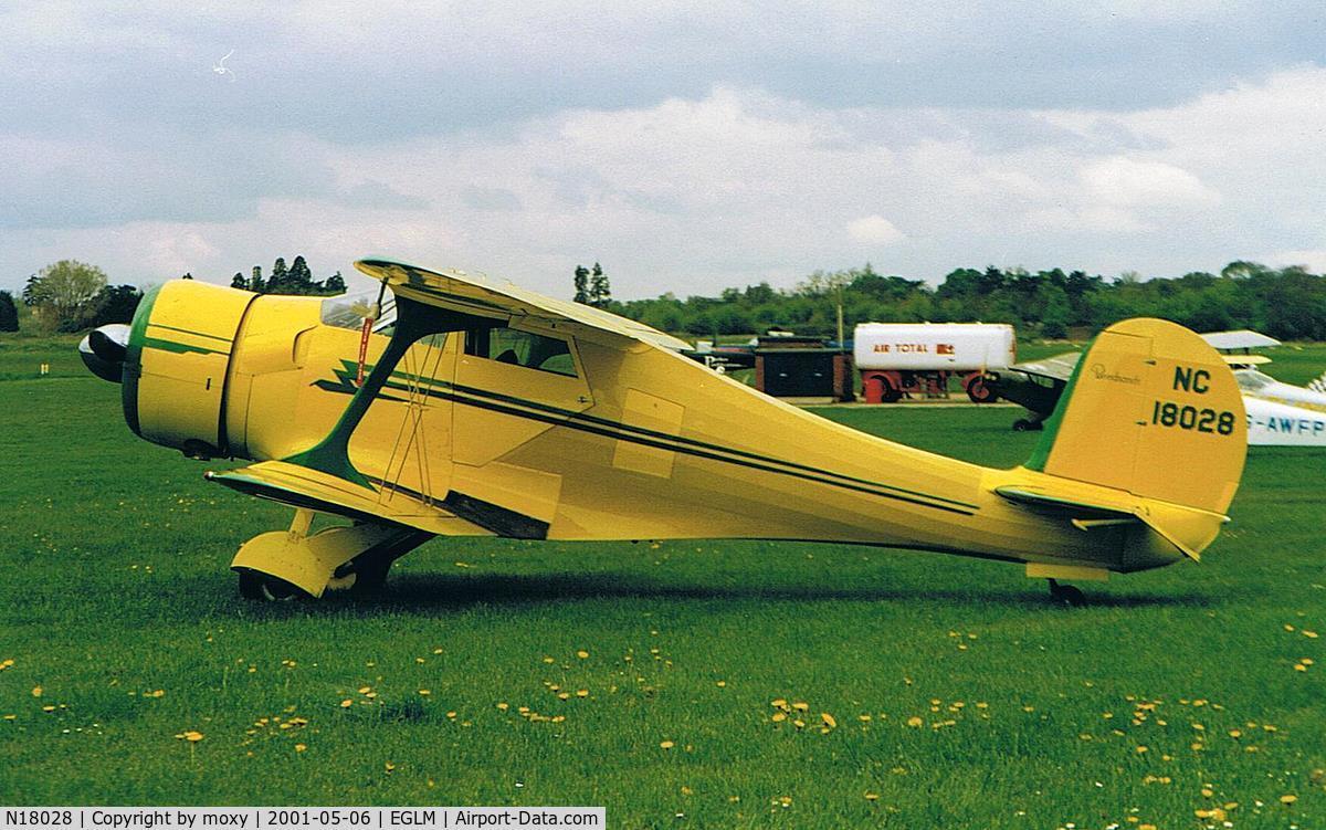 N18028, 1937 Beech D17S Staggerwing C/N 147, BEECH 17S