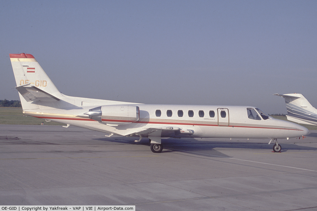 OE-GID, 1990 Cessna 560 C/N 560-0081, Polsterer Jets Cessna 560 Citation 5
