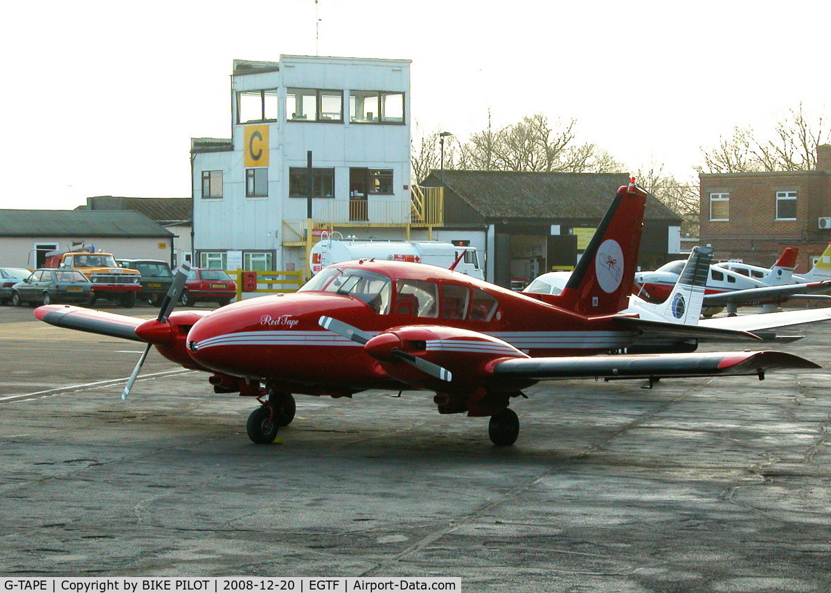 G-TAPE, 1968 Piper PA-23-250 Aztec C/N 27-4054, PRISTINE AZTEC