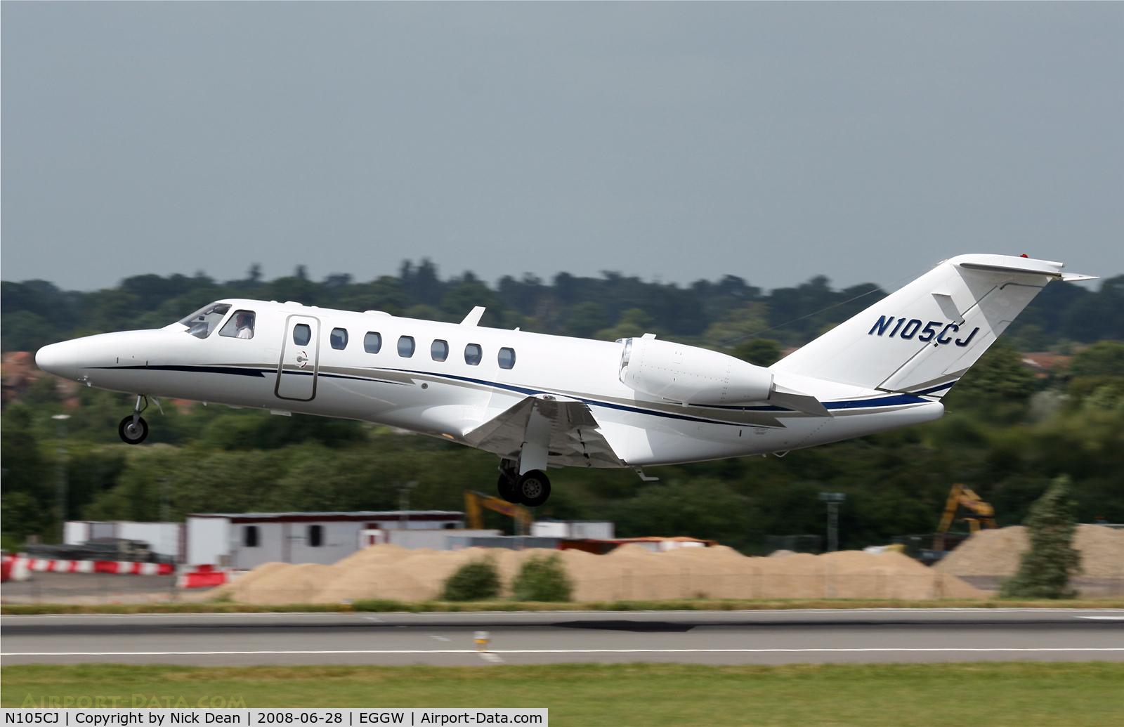 N105CJ, 2004 Cessna 525B CitationJet CJ3 C/N 525B0005, EGGW
