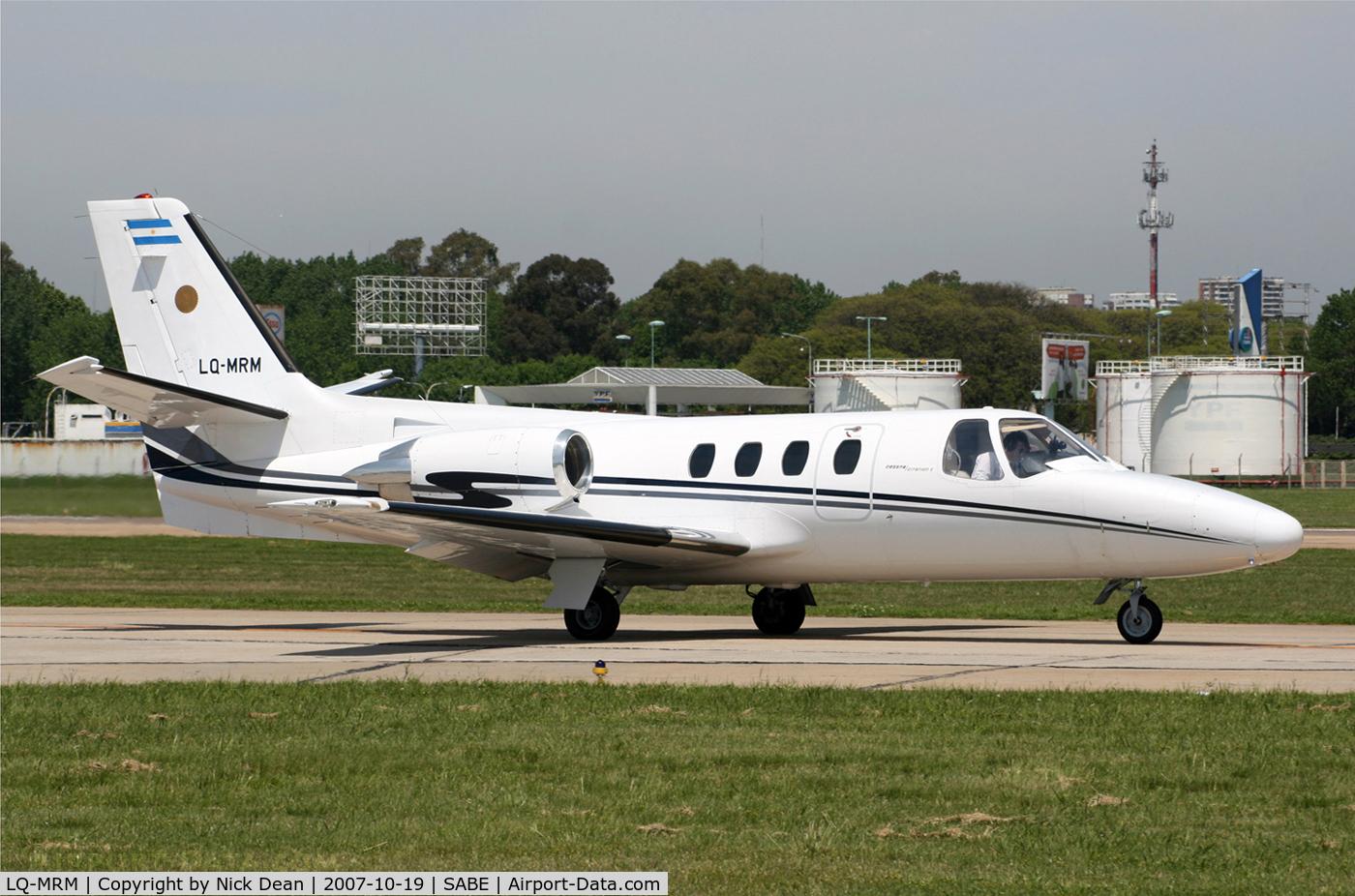 LQ-MRM, 1978 Cessna 500 Citation I C/N 500-0386, SABE