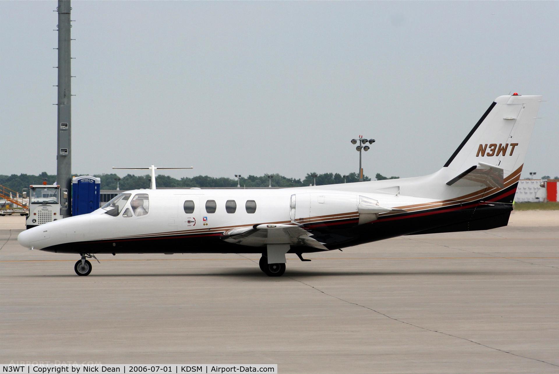 N3WT, 1979 Cessna 501 Citation I/SP C/N 5010088, KDSM