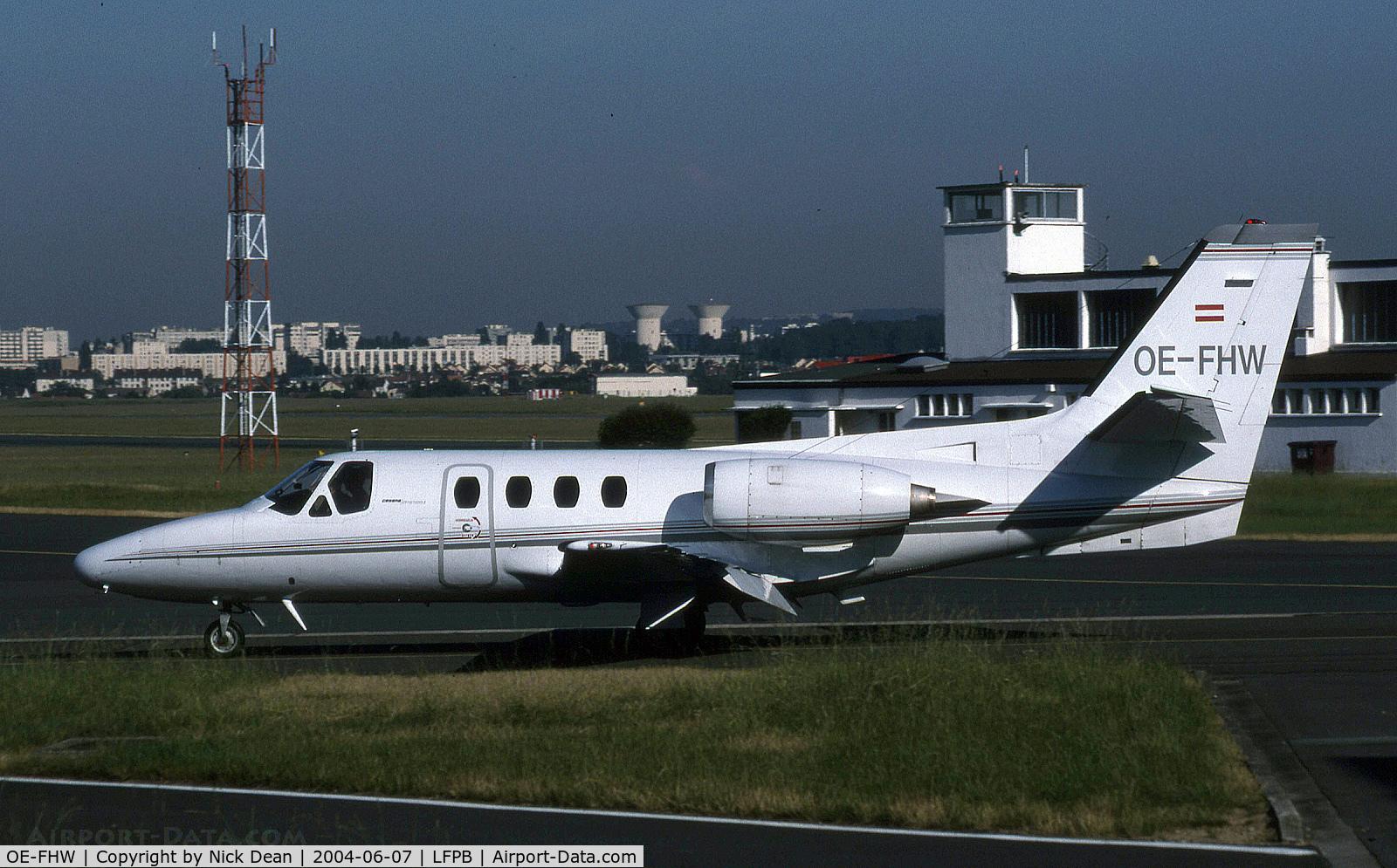 OE-FHW, 1979 Cessna 501 Citation I SP C/N 501-0121, LFPB
