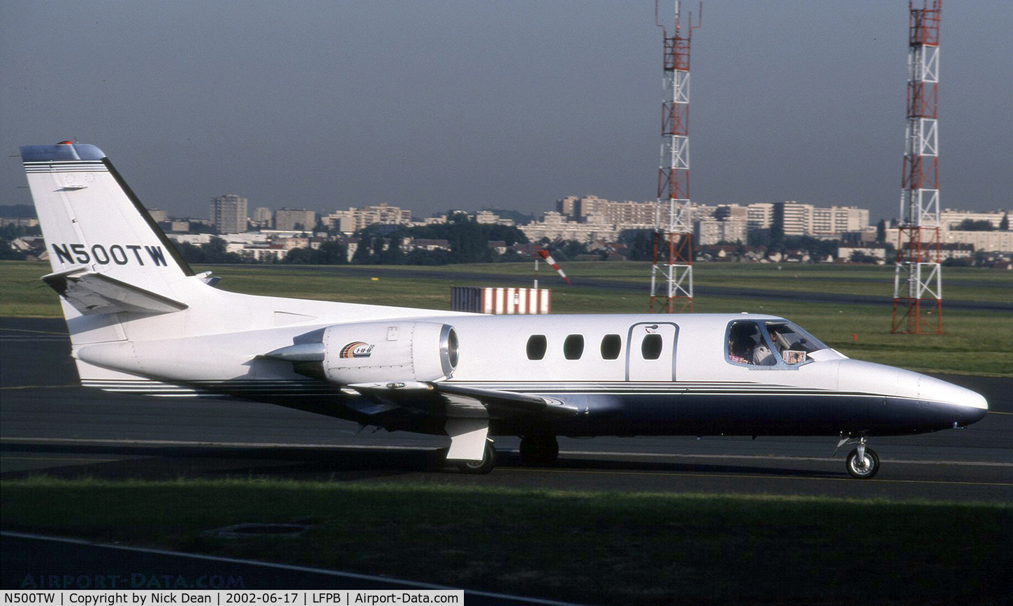 N500TW, 1979 Cessna 501 Citation I/SP C/N 501-0127, LFPB