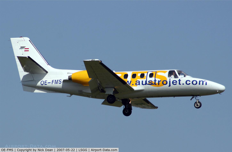 OE-FMS, 1979 Cessna 501 Citation 1/SP C/N 501-0239, LSGG