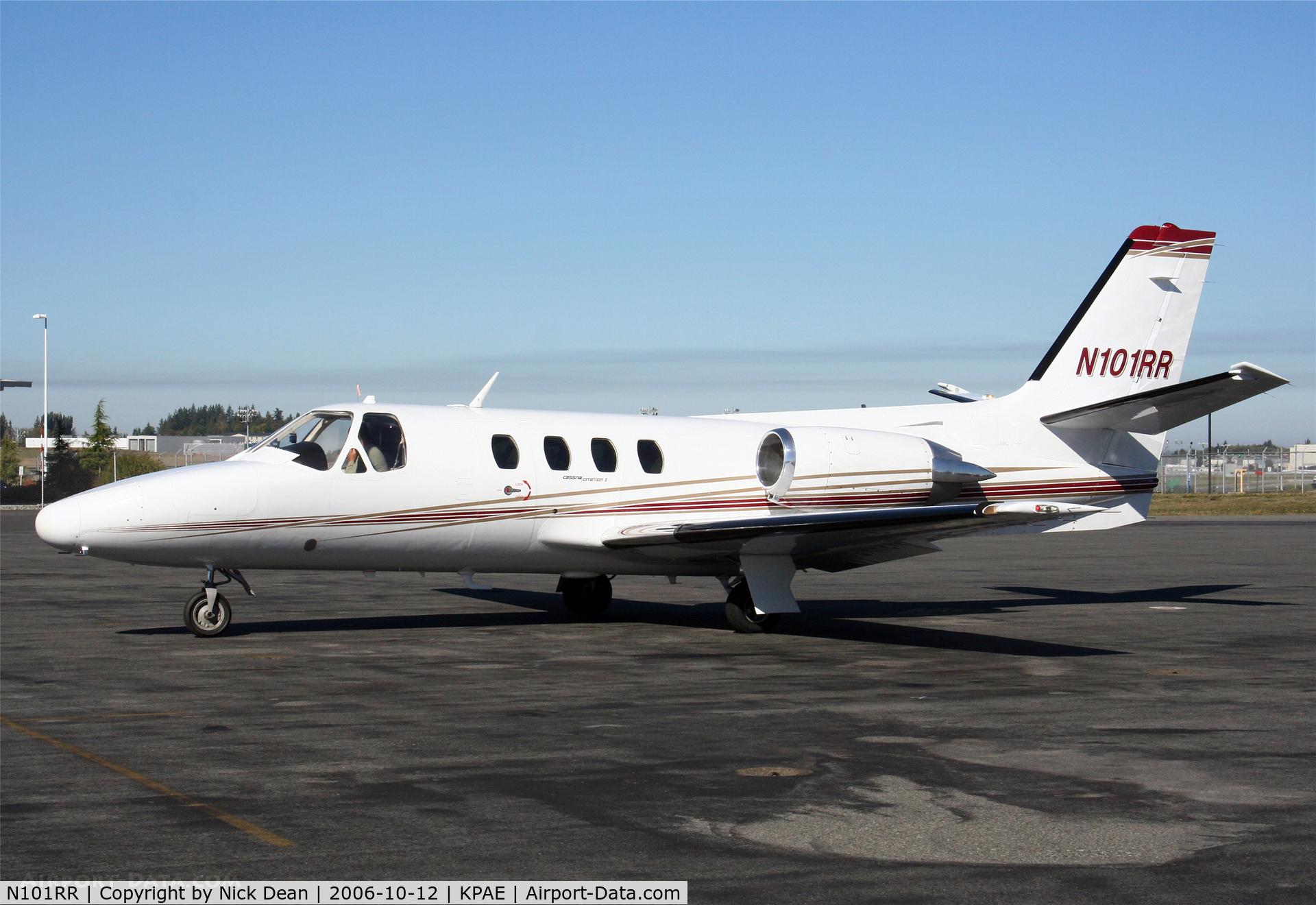 N101RR, 1982 Cessna 501 Citation I/SP C/N 5010241, KPAE