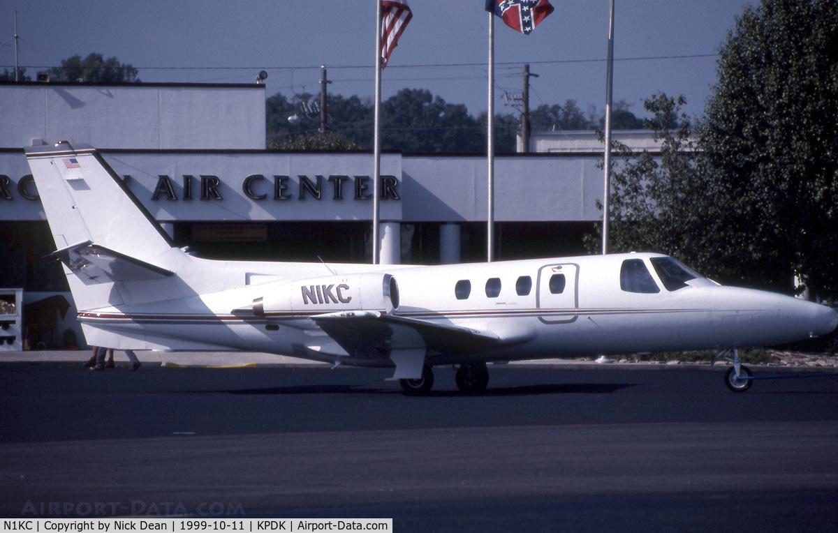 N1KC, 1978 Cessna 501 Citation I/SP C/N 501-0289, KPDK