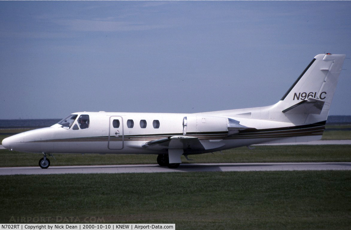 N702RT, 1984 Cessna 501 C/N 501-0683, KNEW (Seen here at NBAA carrying N96LC this airframe is now registered N702RT as posted)