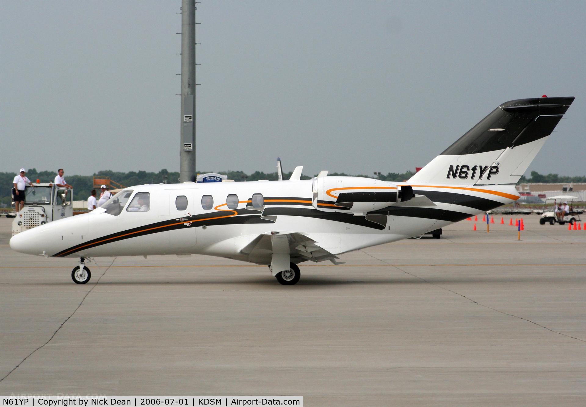 N61YP, 1998 Cessna 525 C/N 525-0237, KDSM