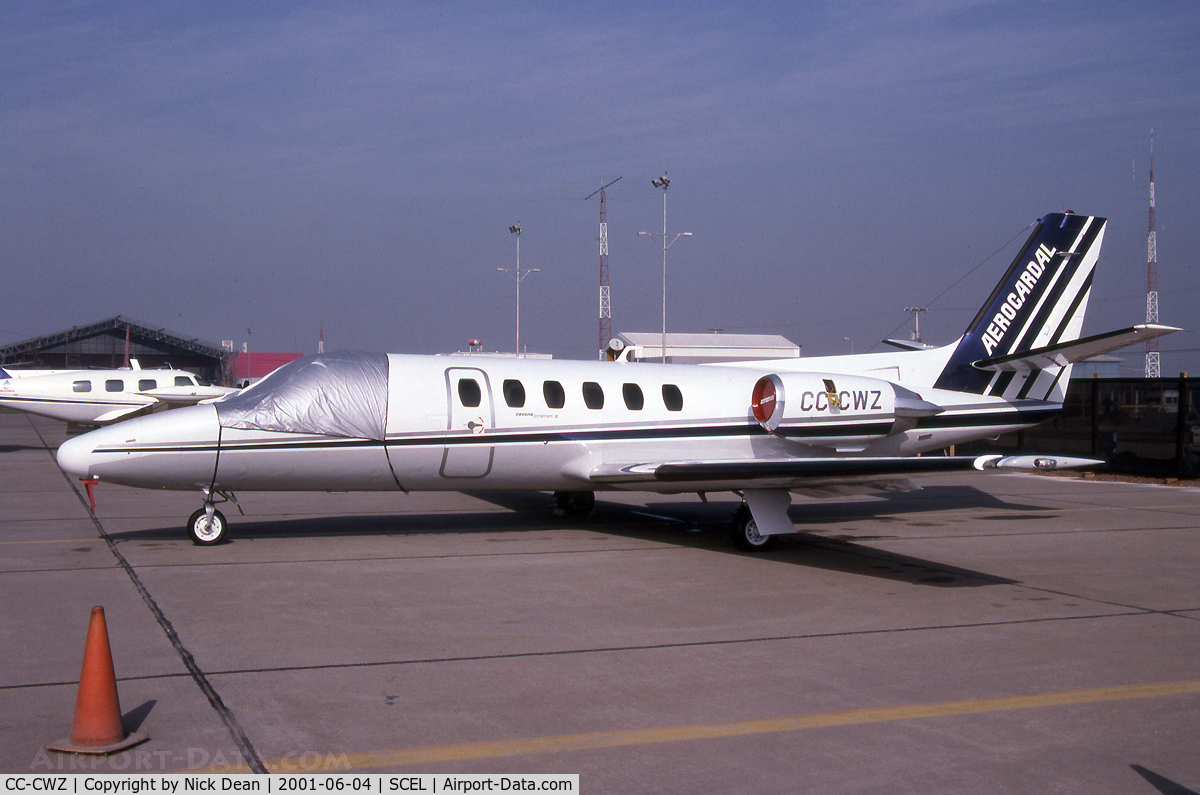 CC-CWZ, 1979 Cessna 551 Citation II C/N 5510141, SCEL (Also applicable to this airframe is C/N 550-0093)