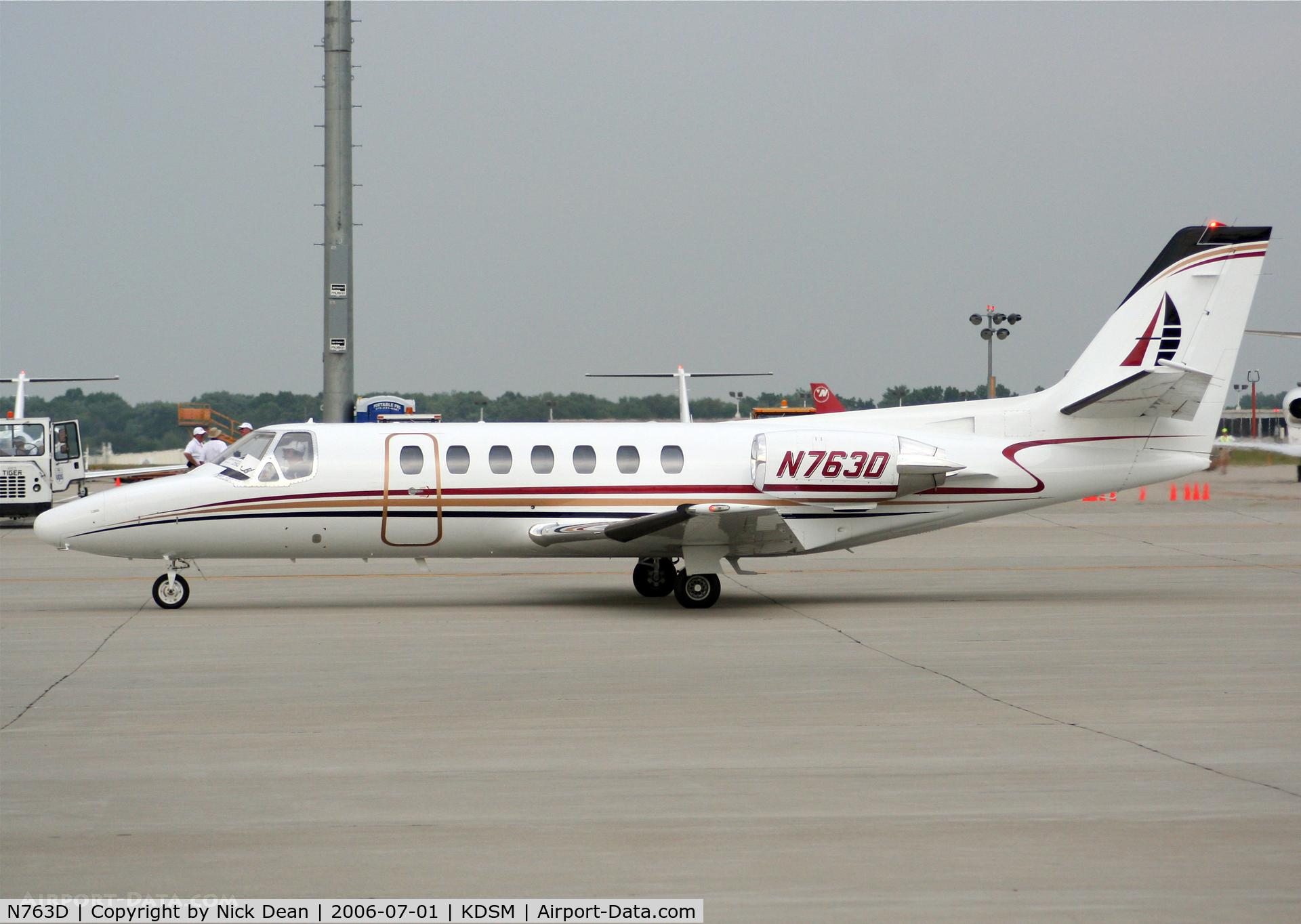 N763D, 1989 Cessna 560 C/N 560-0007, KDSM