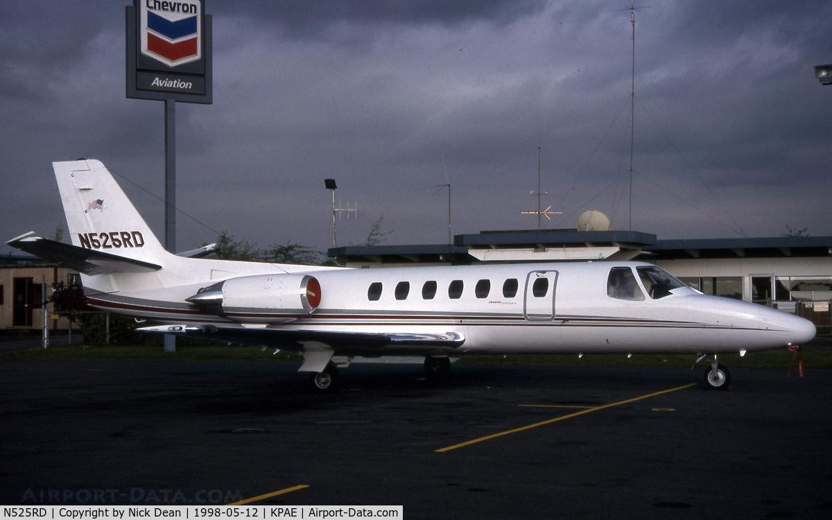 N525RD, 1991 Cessna 560 Citation V C/N 560-0106, KPAE