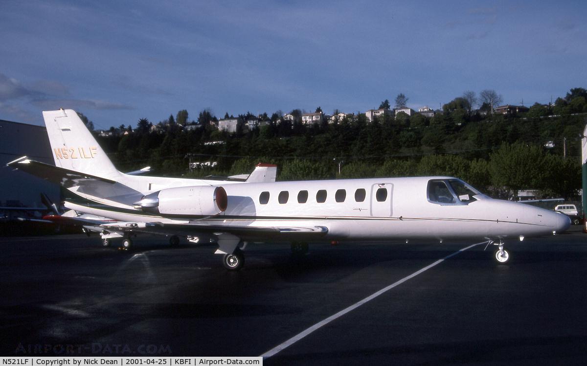 N521LF, 1991 Cessna 560 C/N 5600132, KBFI