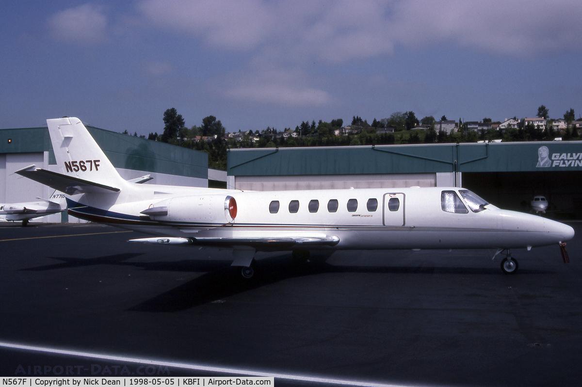 N567F, 1992 Cessna 560 C/N 560-0171, KBFI