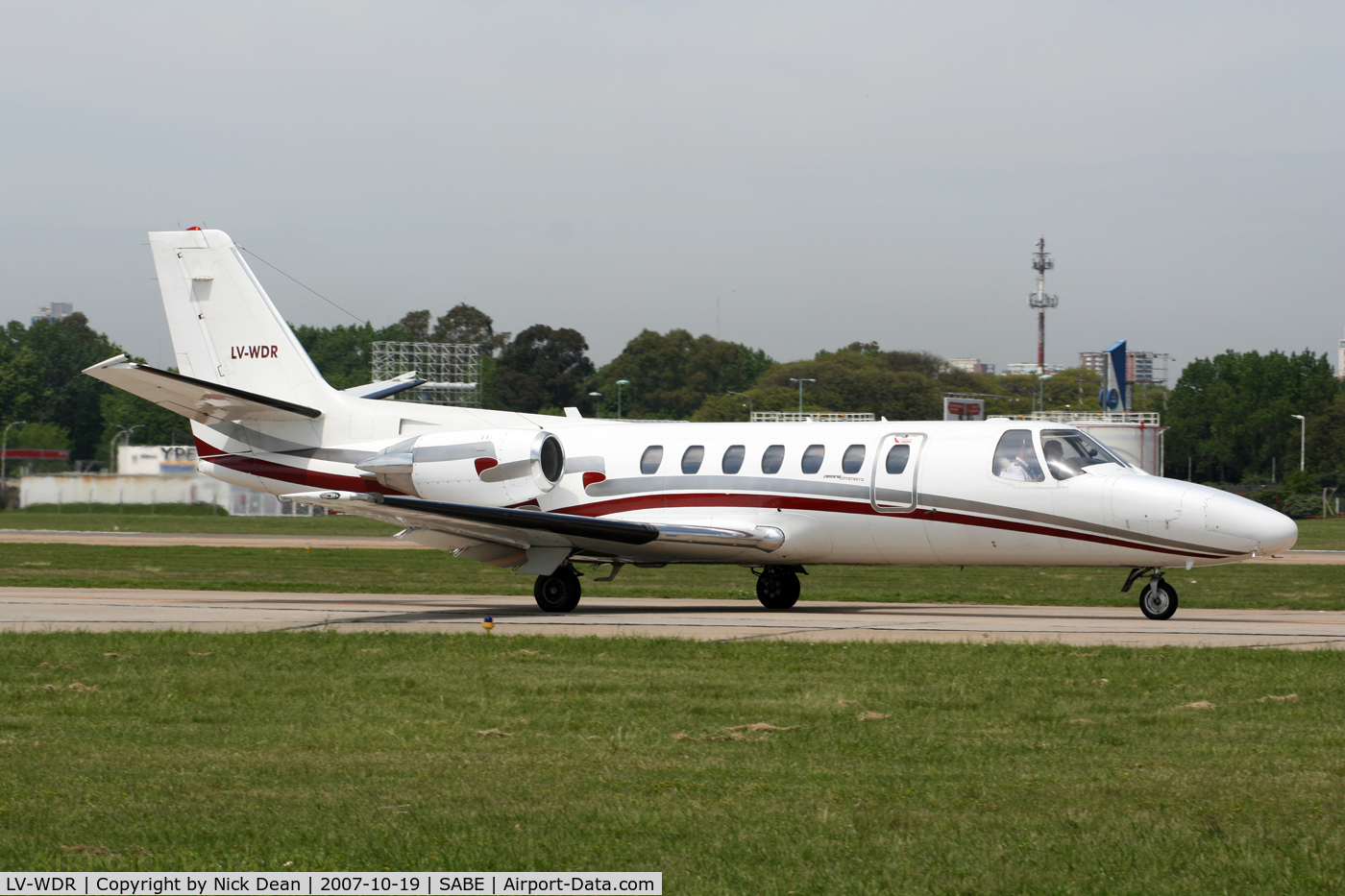 LV-WDR, Cessna 560 Citation V C/N 560-0227, SABE the C/N of this aircraft is 560-0227