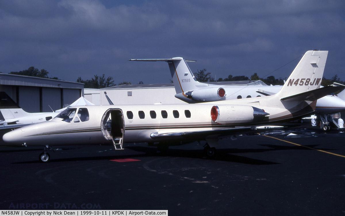 N458JW, 1994 Cessna 560 Citation V C/N 560-0266, KPDK