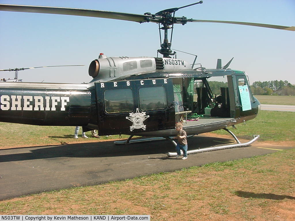 N503TW, 1965 Bell UH-1H C/N 65-09961, 503tw on display at Air Show in Anderson, SC