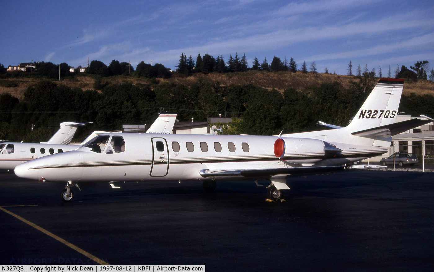 N327QS, 1995 Cessna 560 Citation Ultra C/N 560-0327, KBFI