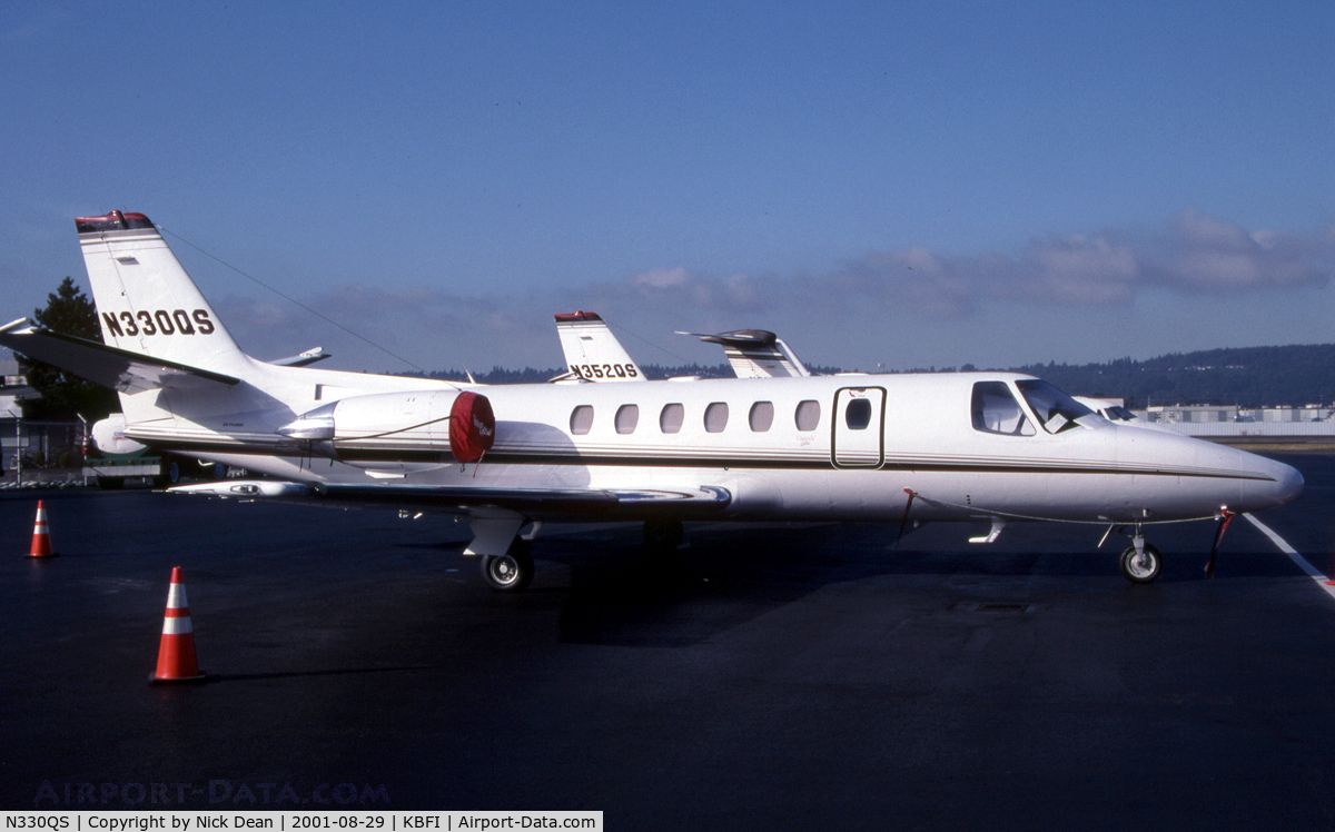 N330QS, 1995 Cessna 560 Citation V C/N 560-0329, KBFI